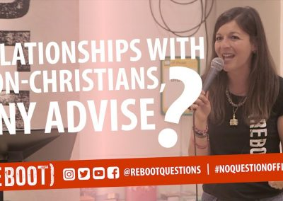 Relationships with non christians, any advise?