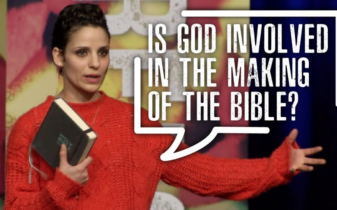 Is God involved in the making of the Bible?