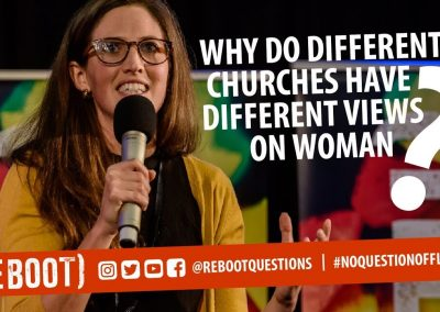 Why do different churches have different views on women?