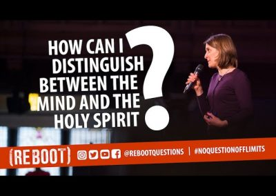 How can I distinguish between the mind and the Holy Spirit?