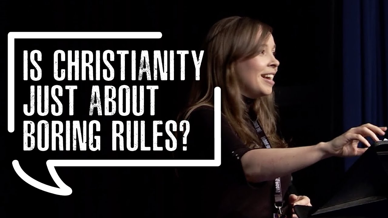 Is Christianity just about boring rules?
